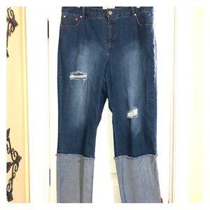 Eloquii Straight leg jeans